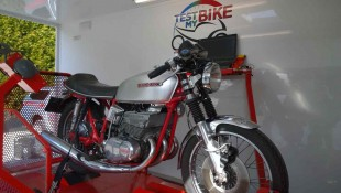 Suzuki GT380 - 1973 avant conversion en injection