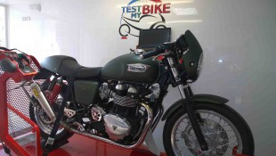 Triumph THRUXTON - agence PERFORMANCE BIKE - Dampremy
