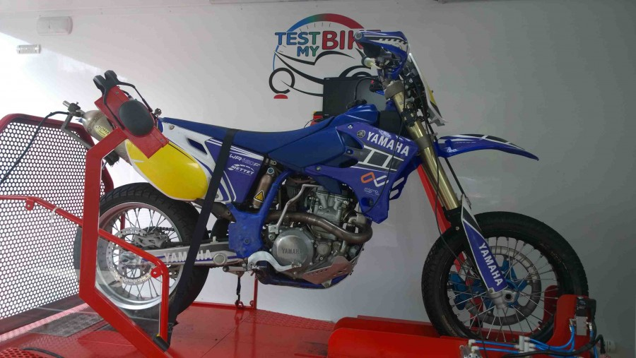 Yamaha WR450 Super Motard